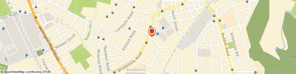 Route/map/directions to Brand Interiors, SK5 7DL Stockport, Broadstone House Broadstone Rd