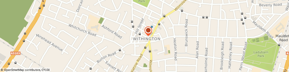 Route/map/directions to Bedding Plus, M20 3HE Manchester, 18 Copson Street