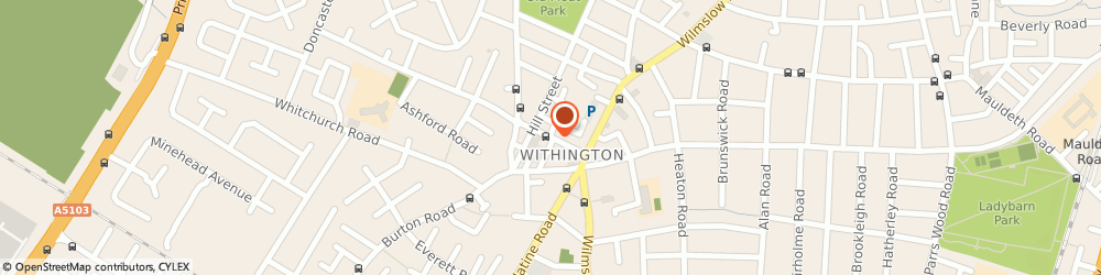 Route/map/directions to The Coffee House, M20 3HE Manchester, 22 Copson Street