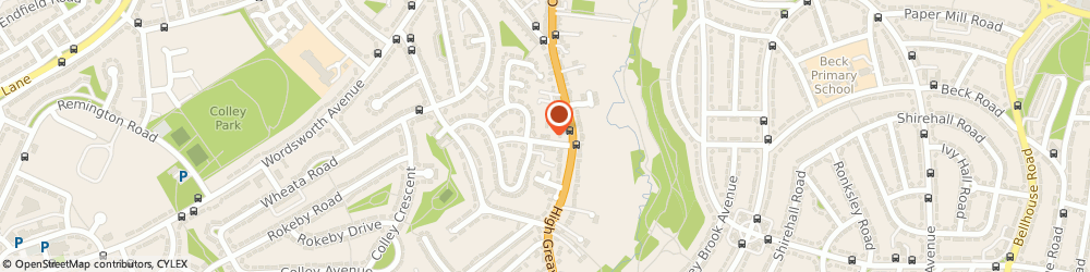 Route/map/directions to D L Gas Services, S5 9GF Sheffield, 19 High Greave Ave