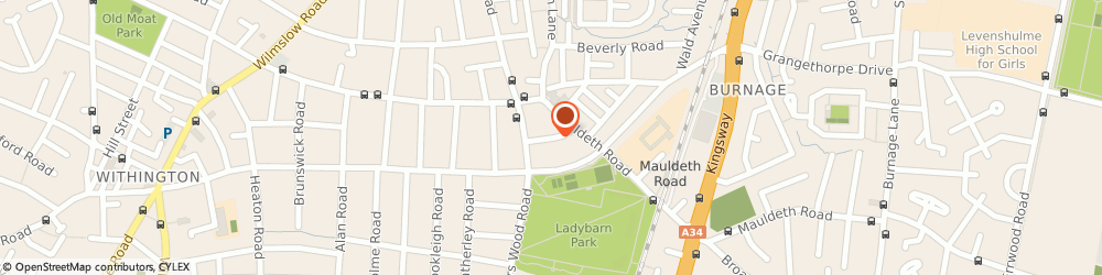 Route/map/directions to RubyRuby Events, M20 4WE Manchester, 20 Weld Road
