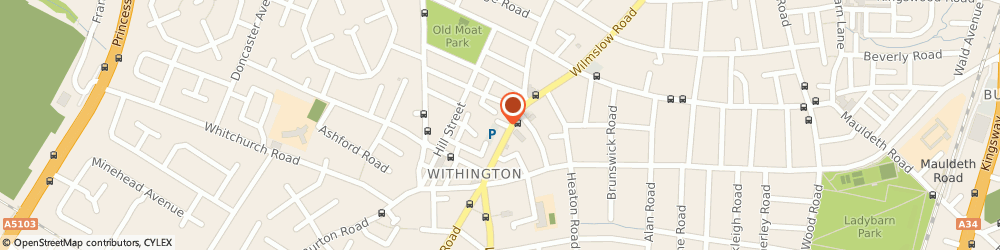 Route/map/directions to Auto Repair Centre, M20 3BQ Manchester, 4 Queen Street West Withington