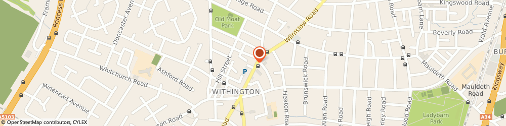 Route/map/directions to Fuel Cafe Bar, M20 3BW Manchester, 448 Wilmslow Road