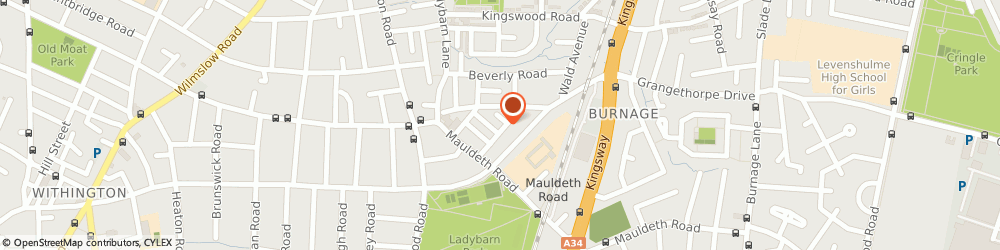 Route/map/directions to R&b Motors of Manchester, M14 6SX Manchester, 1 St. Georges Road