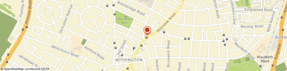 Route/map/directions to WELLINGTON GARAGE (WITHINGTON) LTD, M20 3FU Withington, 158 Wellington Road