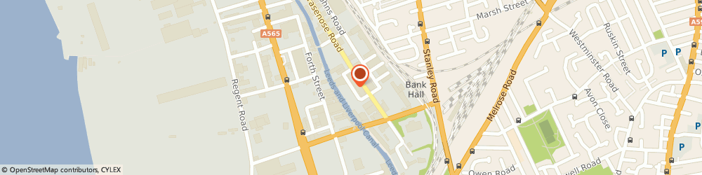 Route/map/directions to Msr Ltd, L20 8HP Liverpool, Syren Street, Brasenose Road