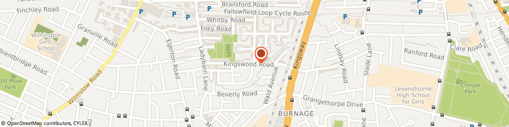 Route/map/directions to Betts Photography, M14 6RX Manchester, 56 KINGSWOOD ROAD