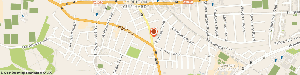 Route/map/directions to JUSTBOILERS.COM, M21 8AQ Manchester, 519 Barlow Moor Rd