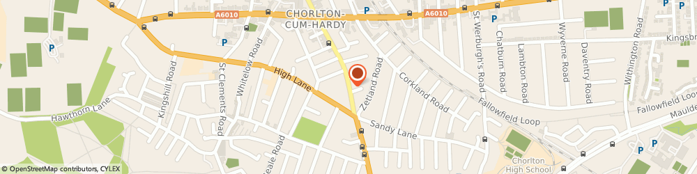 Route/map/directions to Fish SPA Of Chorlton, M21 8AQ Manchester, 521A Barlow Moor Road