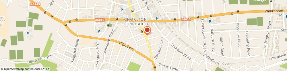 Route/map/directions to Va Va Voom Beauty Rooms, M21 8AN Manchester, 559 Barlow Moor Road, Chorlton