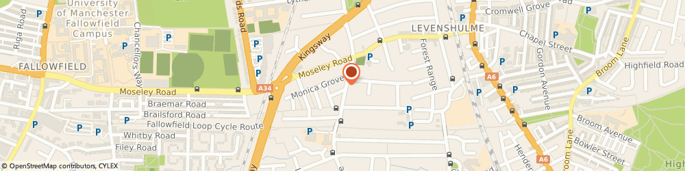 Route/map/directions to Jacob and Co Cars, M19 2BX Manchester, 358, Slade Lane