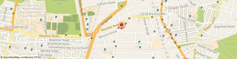 Route/map/directions to Westpoint Dental Centre, M19 2AQ Manchester, 160 Slade Ln