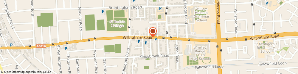 Route/map/directions to Heart Networks Uk Limited, M16 8NG Manchester, 365 WILBRAHAM ROAD