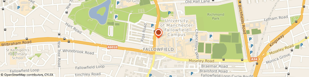 Route/map/directions to Pandoras massage parlour, M14 6XQ Manchester, 310 Wilmslow Rd
