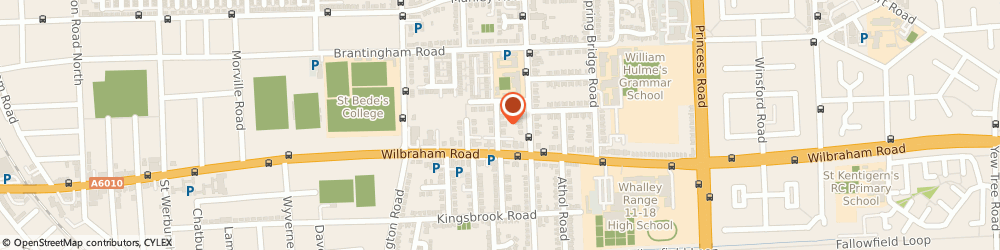 Route/map/directions to Milton Patterson Limited, M16 8NQ Manchester, FLAT 1, 6 ARNOLD ROAD