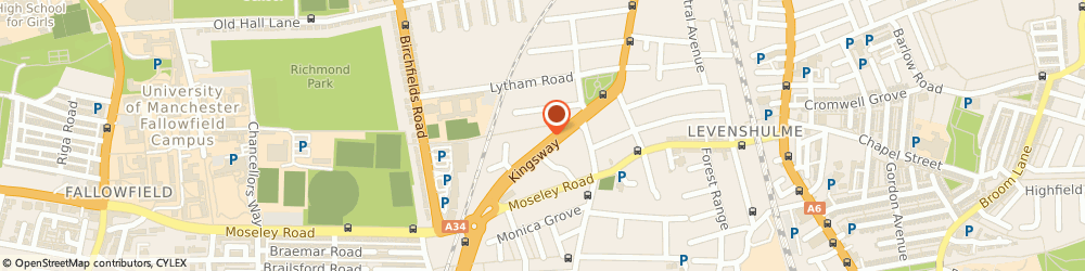 Route/map/directions to A & a Autospares, M192DD Manchester, 6 Kingsway