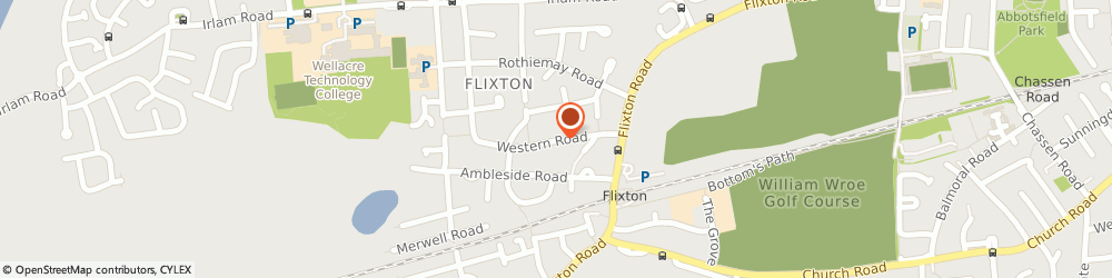Route/map/directions to Charlotte Otoole, M41 6LF Urmston, 26 WESTERN ROAD
