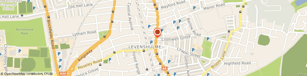 Route/map/directions to Kings Private Hire, M19 3BF Manchester, 2A Farmside Pl