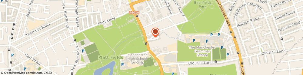 Route/map/directions to Hamley, M14 6HQ Manchester, 24 Appleby