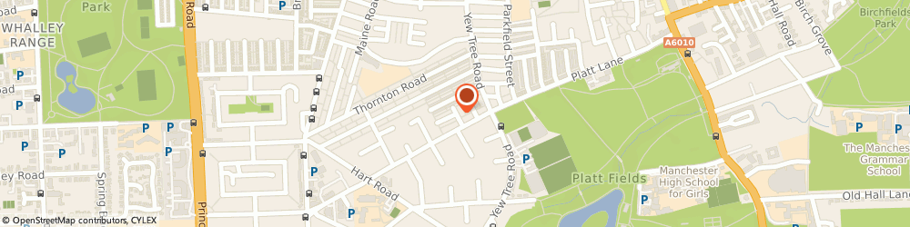 Route/map/directions to J K School Of Motoring, M14 7BP Manchester, 2 BROCKLEY AVENUE.