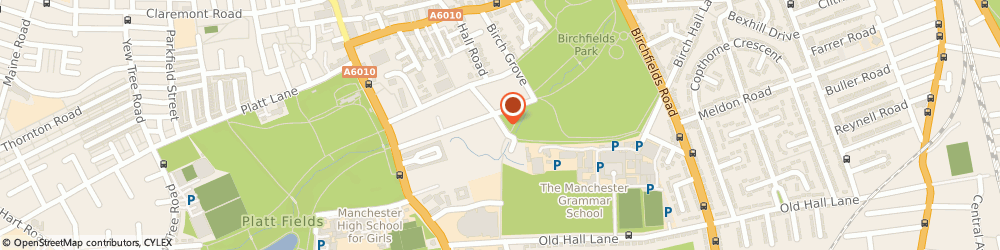 Route/map/directions to Jane Sweet, M14 5JS Manchester, 16 DANES ROAD