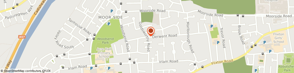 Route/map/directions to TD Plumbing & Heating, M41 8TX Manchester, 10 Goldsworthy Rd