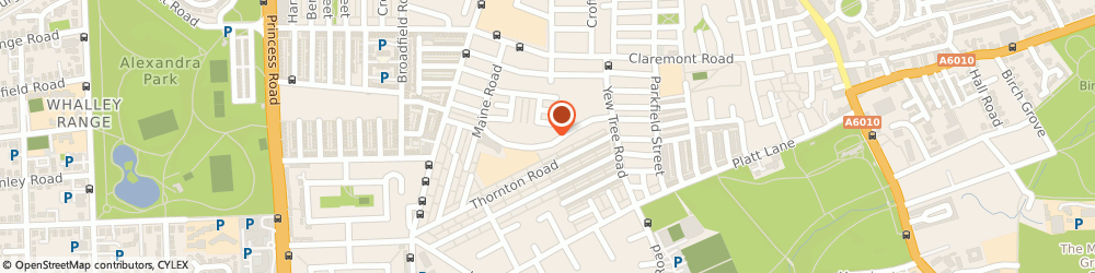 Route/map/directions to Kalfar Health, M14 7GR Manchester, 51 Blue Moon Way