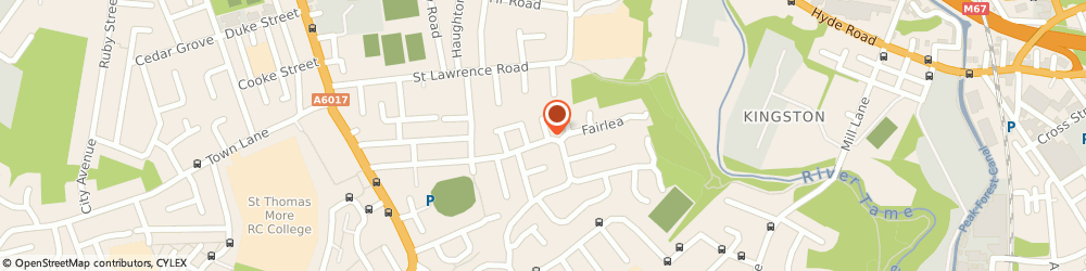 Route/map/directions to C & S Freeflow Drain Services, M34 6BX Manchester, 64 Leesway Drive