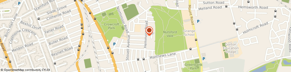Route/map/directions to Nurse Mobile Foot Clinic, M12 4QG Manchester, 81 Hemmons Rd