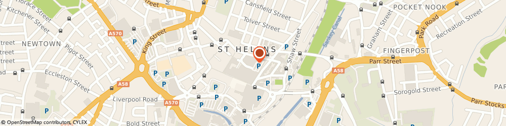 Route/map/directions to Forster Dean Solicitors, WA10 1QX St Helens, 9 Hardshaw St