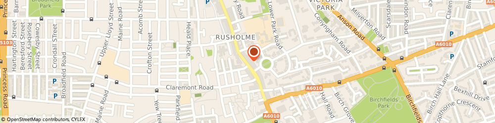Route/map/directions to Eastern Gold, M14 5AP Manchester, 161 Wilmslow Road