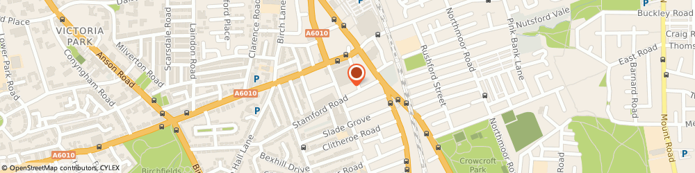 Route/map/directions to Concept Carpets & Floorings t/a Rug N Roll, M13 0PD Manchester, 69 Hamilton Rd