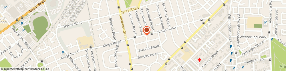 Route/map/directions to Range Heating, M16 9NX Manchester, 38 Leighton Road
