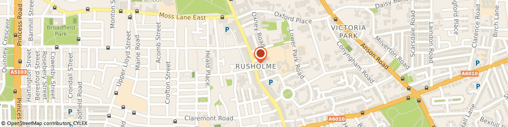 Route/map/directions to ROLEX BOOKS & MUSIC SHOP, M14 5SU Manchester, 81, WILMSLOW ROAD