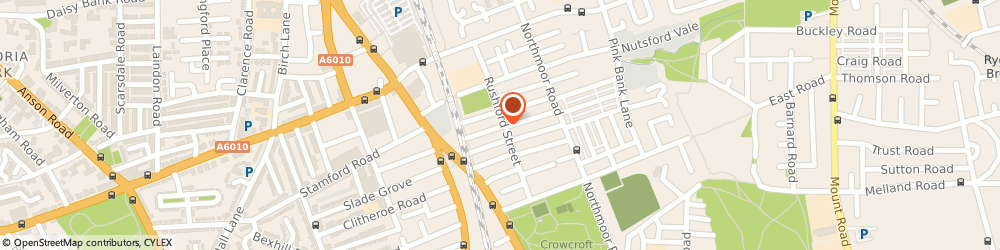 Route/map/directions to A.D. Amin Decorating, M12 4WZ Manchester, 48 Rushford St
