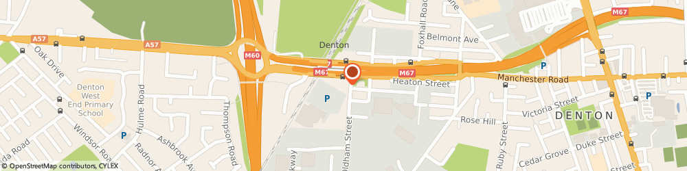 Route/map/directions to Sainsbury's Petrol Station, M34 3SJ Manchester, Oldham Street