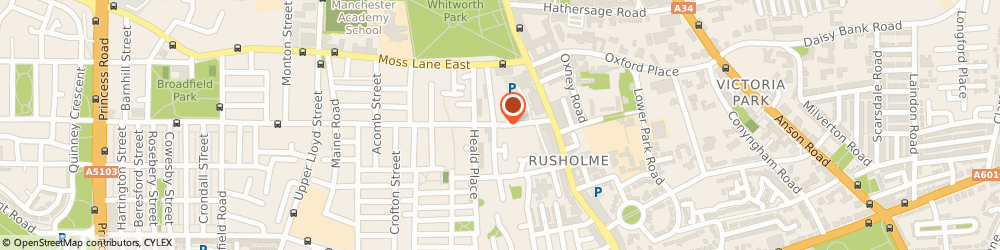 Route/map/directions to Longsight Industrial Estate Limited, M14 4HB Manchester, MCR HOUSE 341 GREAT WESTERN STREET