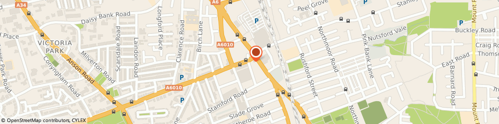 Route/map/directions to Anmol Sweet House, M13 0WQ Manchester, 390 Dickenson Road