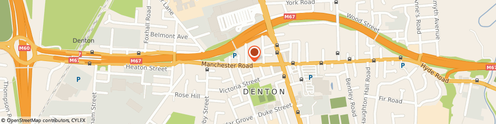 Route/map/directions to The Nail Box, M34 3LE Manchester, 56 Manchester Road