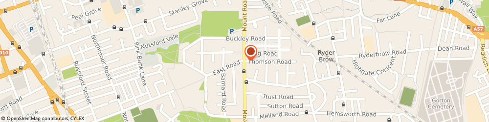 Route/map/directions to Gorton Mount Primary School, M18 7GR Manchester, Mount Rd