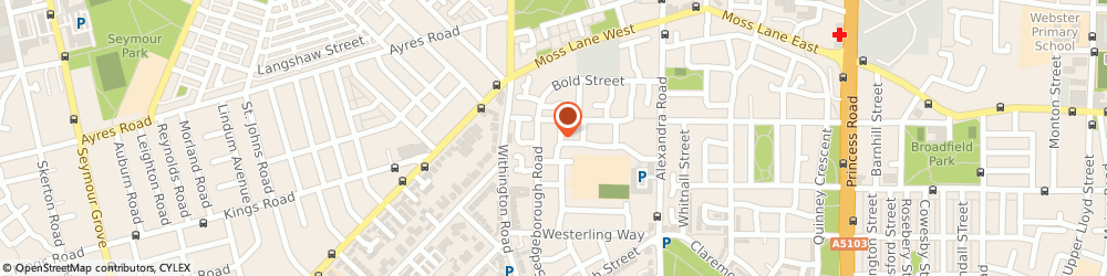 Route/map/directions to Greater Manchester Heating & Plumbling, M16 7EZ Manchester, 20 woodhead st