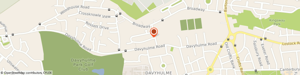 Route/map/directions to Aquae Heating & Plumbing, M41 7NP Manchester, 8 Nursery Rd