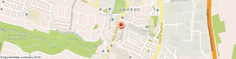 Route/map/directions to Centra - Swords, K67 V8Y6 Swords, 35 Main Street