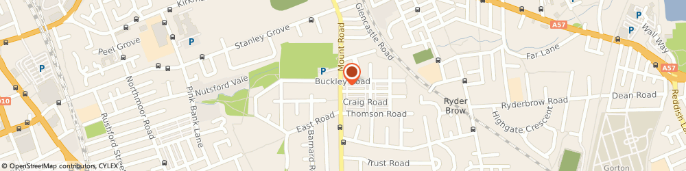 Route/map/directions to LloydsPharmacy, M18 7QT Manchester, 151-153 Mount Road
