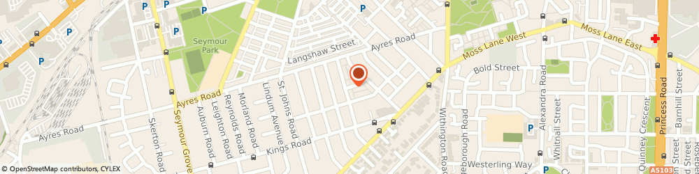 Route/map/directions to A Plus Mobile Valeting, M16 9WE Manchester, 12-14, KHARTOUM STREET, OLD TRAFFORD