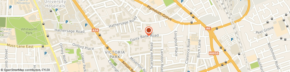 Route/map/directions to Richardson Hotels Of Distinction, M14 5QL Manchester, 65 Daisy Bank Road