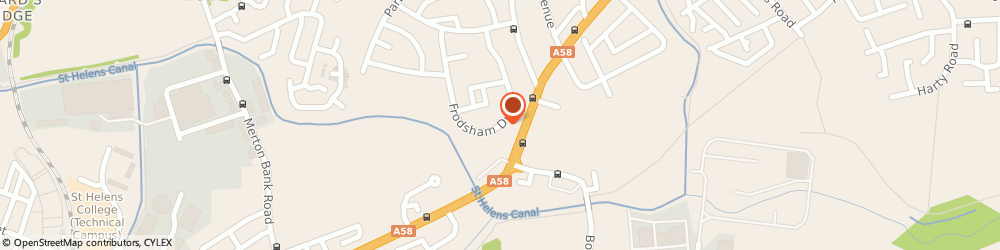 Route/map/directions to D&A Home Improvements & Landscaping, WA11 9BD St. Helens, 74 Frodsham Drive