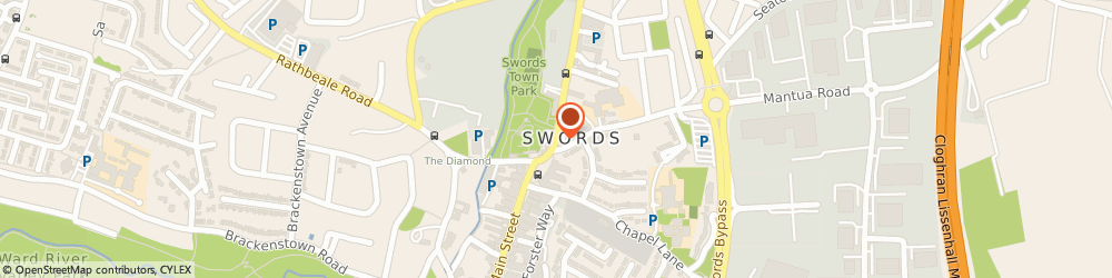 Route/map/directions to Broadmeadow Nursing Care Limited,  Swords, 10 North Street Business Park