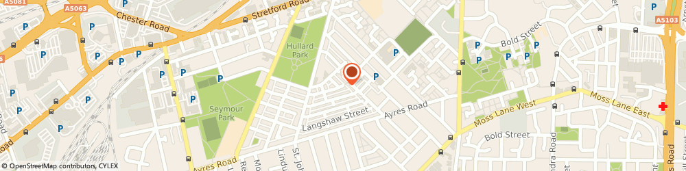 Route/map/directions to Fidelity Business Solutions Ltd, M16 9JX Manchester, 1 HOWARTH STREET