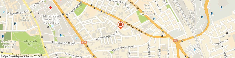 Route/map/directions to Costcutter Manchester, M13 0BZ Manchester, 1 Hathersage Road